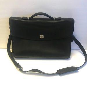 Coach Vintage black Lexington Briefcase Laptop Bag